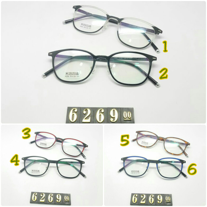 frame kacamata baca KOREA OVAL formal wanita cewek minus plus cylinder 5d953e68be