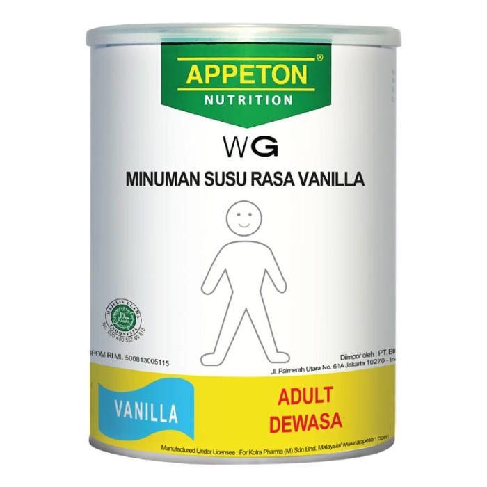 Jual Appeton Weight Gain Susu Rasa Vanila Dewasa 900 Gram