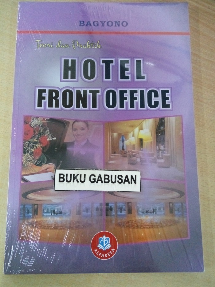 harga Buku hotel front office toeri dan praktik wr Tokopedia.com