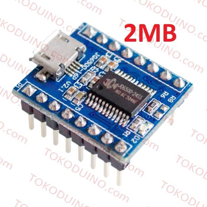 harga Jq6500 2mb mp3 wav audio sound player module serial ttl 5 way switch Tokopedia.com