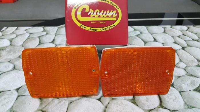 harga Parking light/lampu sen samping jeep wrangler/cj7, crown ori Tokopedia.com