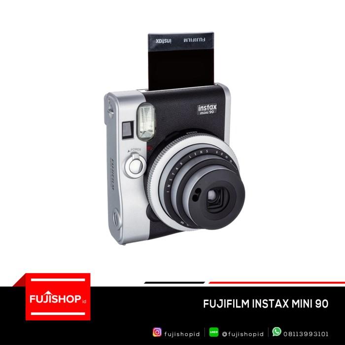 harga Fujifilm instax mini 90 - black Tokopedia.com