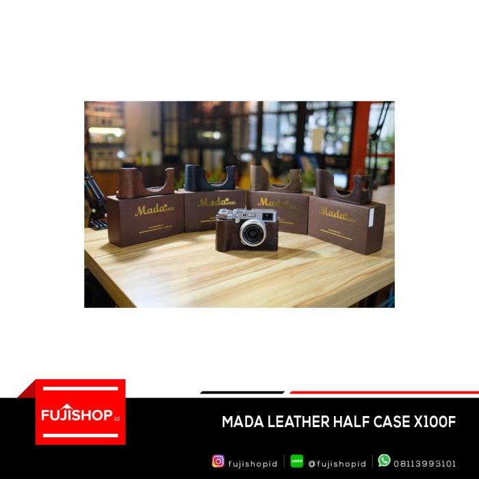 harga Mada leather half case for fujifilm x-100f Tokopedia.com