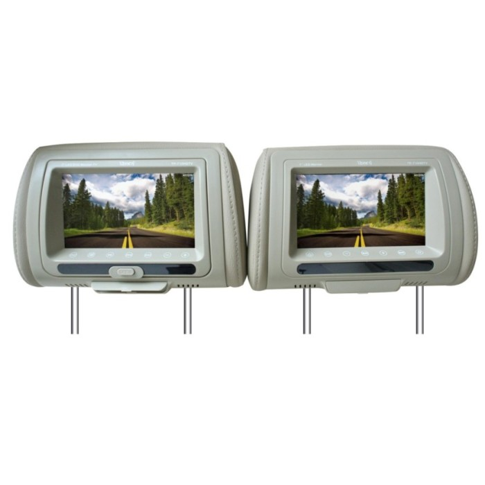 harga Thump tp-710hdtv dvd headrest monitor 7 -beige Tokopedia.com