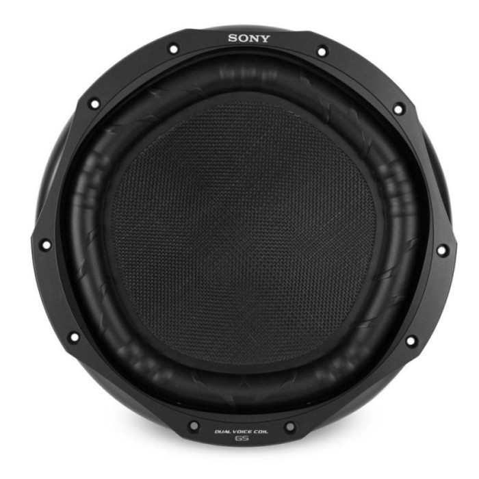 Jual Sony Xs-Gs120ld Gs Series 12  Subwoofer With Dual 4-Ohm Voice Coils Harga Promo Terbaru
