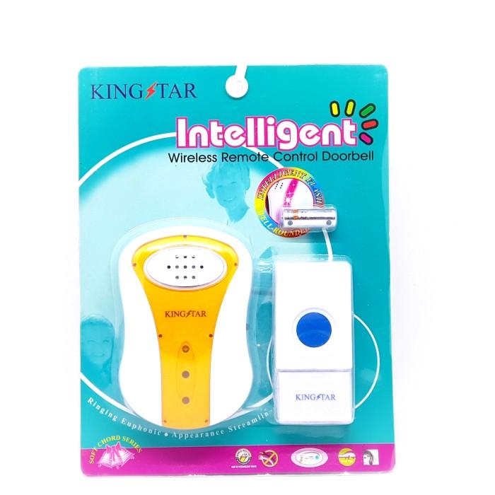 harga Door bell bel pintu wireless waterproof anti air tanpa kabel Tokopedia.com