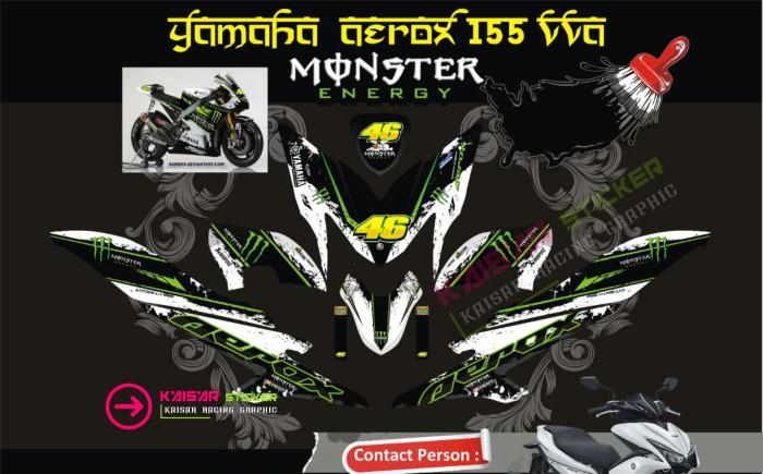 harga Sticker striping /aksesoris body motor aerox 155 full body monster Tokopedia.com