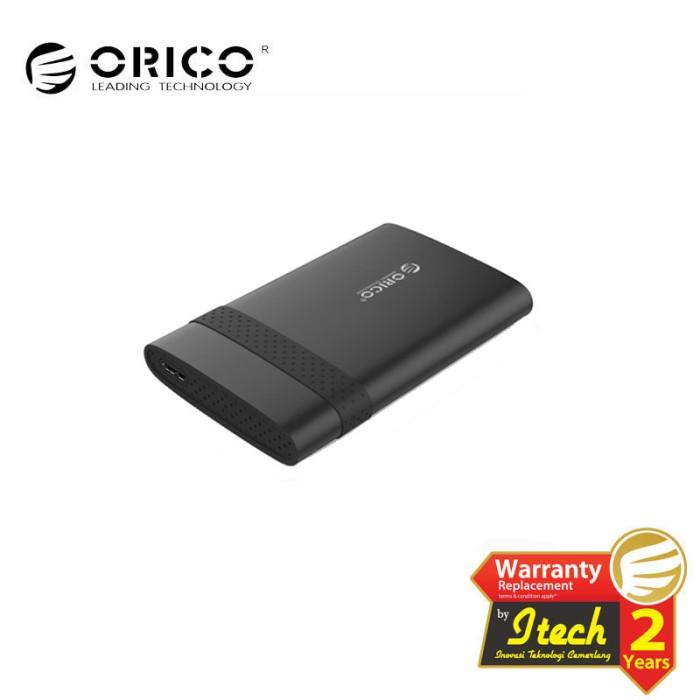 Foto Produk ORICO 2538U3 2.5 inch Tool Free USB3.0 Hard Drive Enclosure - BLACK dari ORICO INDONESIA
