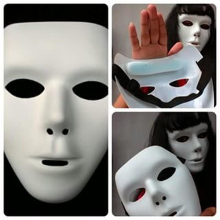 harga Topeng jabbawockeez doft white mirip original topeng dance Tokopedia.com