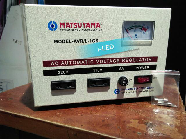harga Stabilizer stavol matsuyama 1000w / voltage 1 gs / 1ph 1 kva 220v Tokopedia.com