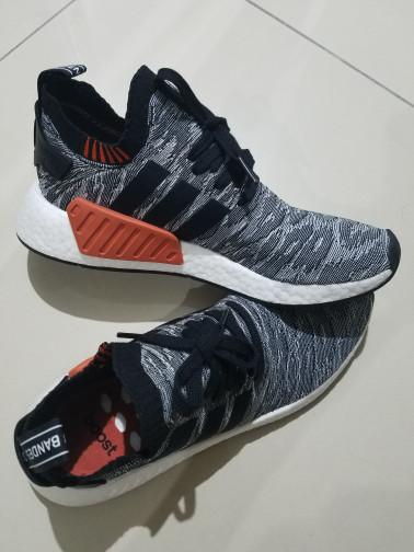 first rate e8bf8 31dd4 Jual Adidas NMD R2 Harvest Black White - Jakarta Barat - Wellshops    Tokopedia