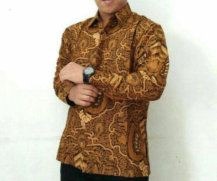 harga Kemeja panjang batik solo - dress. klasik. blus. baju - de solo batik Tokopedia.com