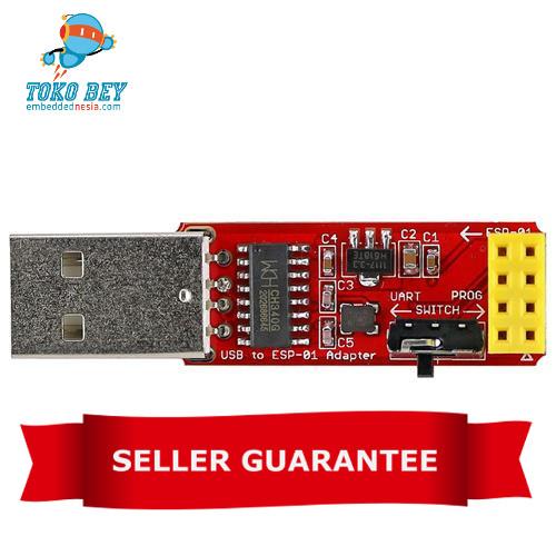 Foto Produk OPEN-SMART CH340G USB to ESP8266 ESP-01 Wi-Fi Adapter Module  dari TOKO BEY