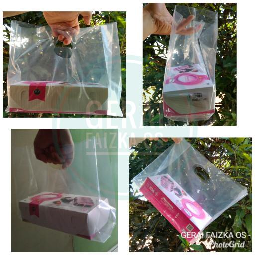 harga Kantong plastik pe plong bening (ada lipatan pinggir) 30x30 cm Tokopedia.com