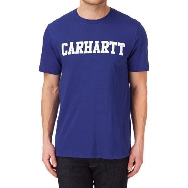 Kaos /T-Shirt CARHARTT BLUE 02