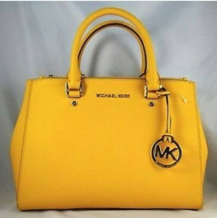0a69d554705 Jual JUAL TAS MICHAEL KORS SUTTON MEDIUM SUN YELLOW ORIGINAL ASLI ...
