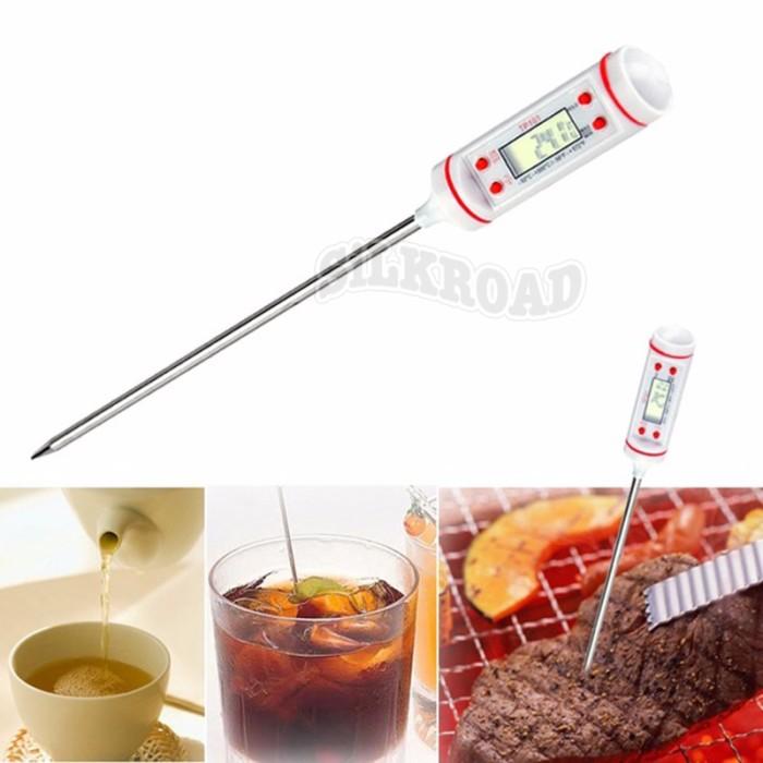 harga Termometer Bbq Digital,digital Thermometer,masak Kopi, Susu,air,obat Tokopedia.com