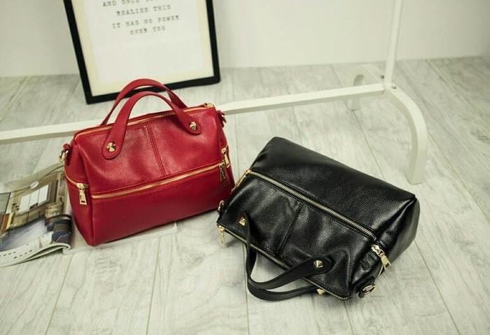 Tas Wanita Import Untuk Jalan Jalan Emma Bag Jims Honey - BLACK