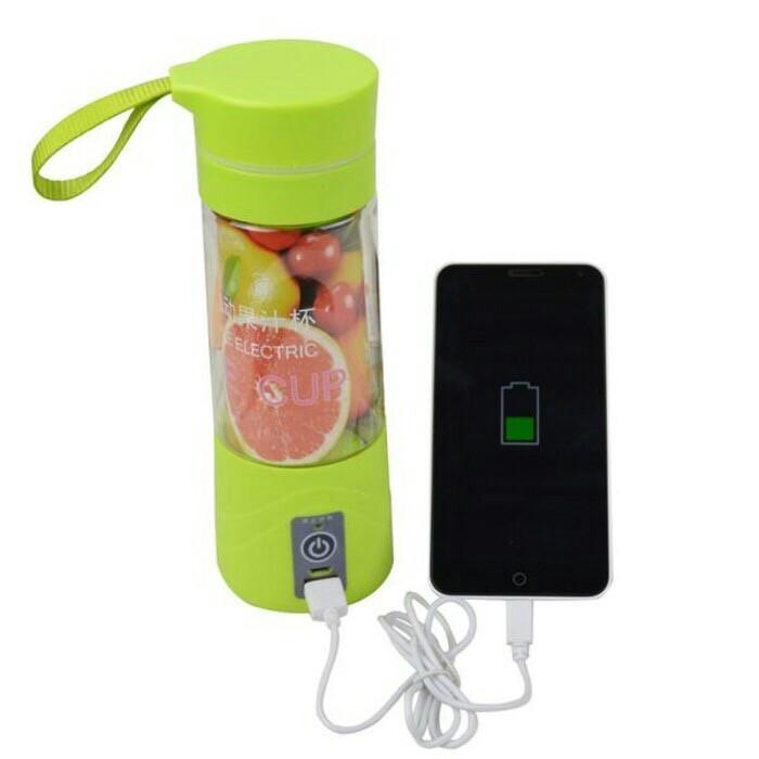 Blender juice cup usb portable + free kabel usb dan box