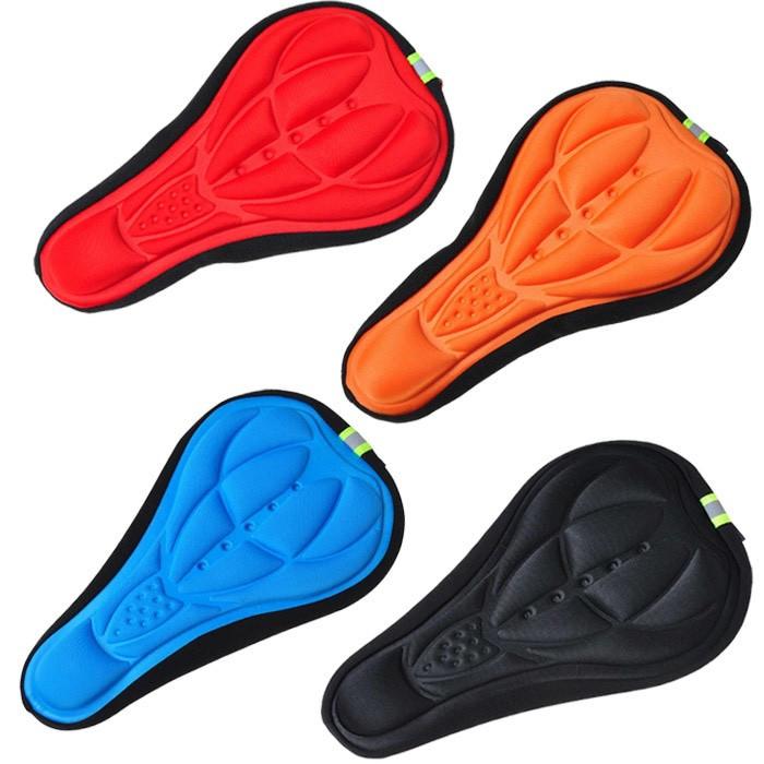 Foto Produk sarung jok sepeda gel empuk, cover saddle, sadel sepeda, cover sepeda dari homeshop123