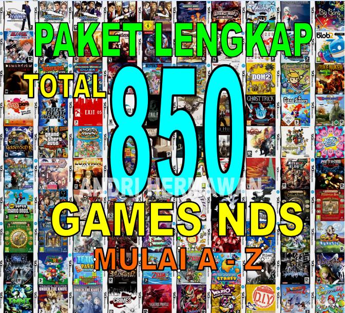 harga Paket lengkap 733 game nds games nintendo ds Tokopedia.com