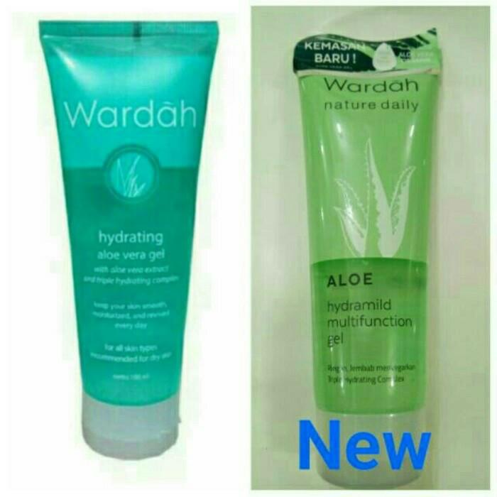 Info Wardah Hydrating Aloe Vera Gel Travelbon.com