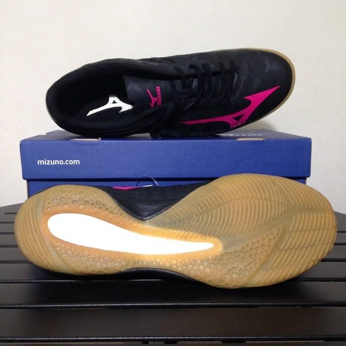 Sepatu Futsal Mizuno Basara 103 Sala IN Black Q1GA173160 Original BNIB c09db6c277