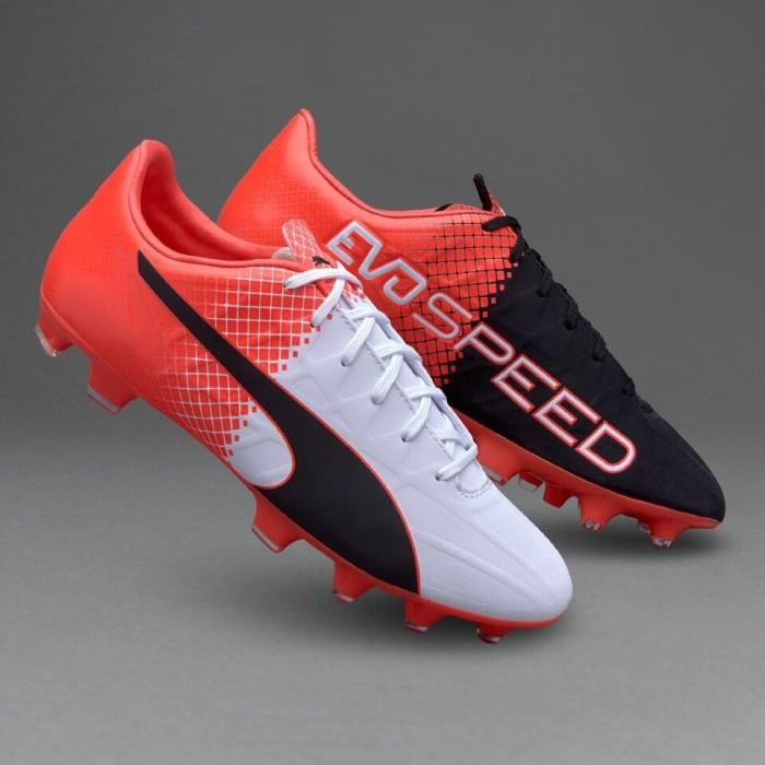 Jual sepatu bola puma evospeed 4 5 fg merah hitam putih original 100 ... 2f7a4e0020