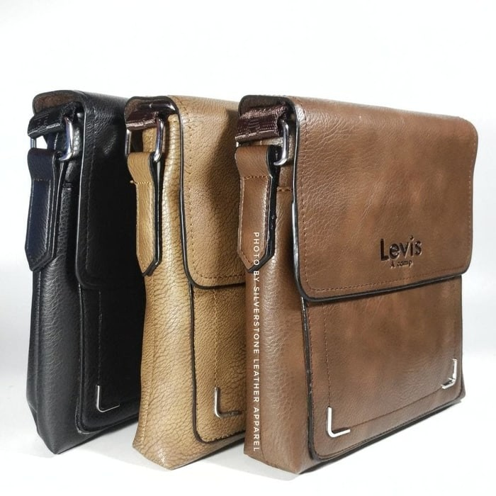 harga Tas selempang kulit | tas levis | tas kulit asli | tas import pria Tokopedia.com