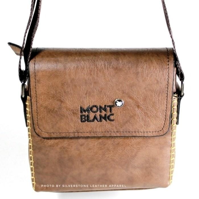 Mont Blanc Tas Salempang Pria Leather Kulit - Daftar Harga Terkini ... 00e05879d1
