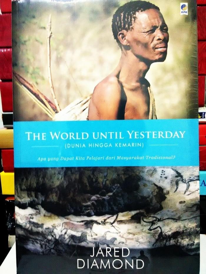 BUKU MURAH The World Until Yesterday -Jared Diamond-
