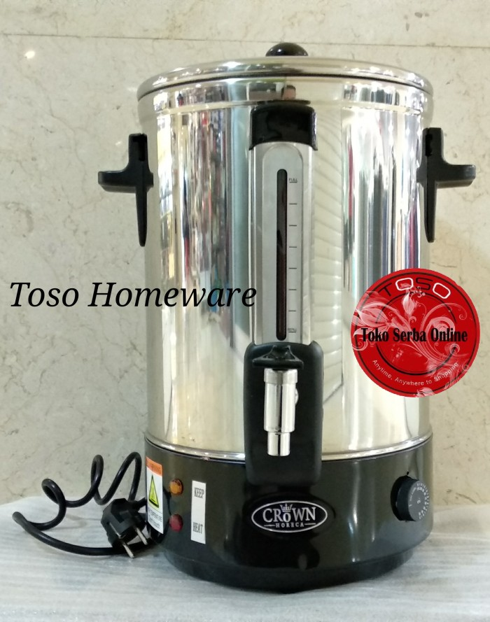 harga Crown horeca water boiler 10ltr wb10 pemanas air coffee maker teh kopi Tokopedia.com