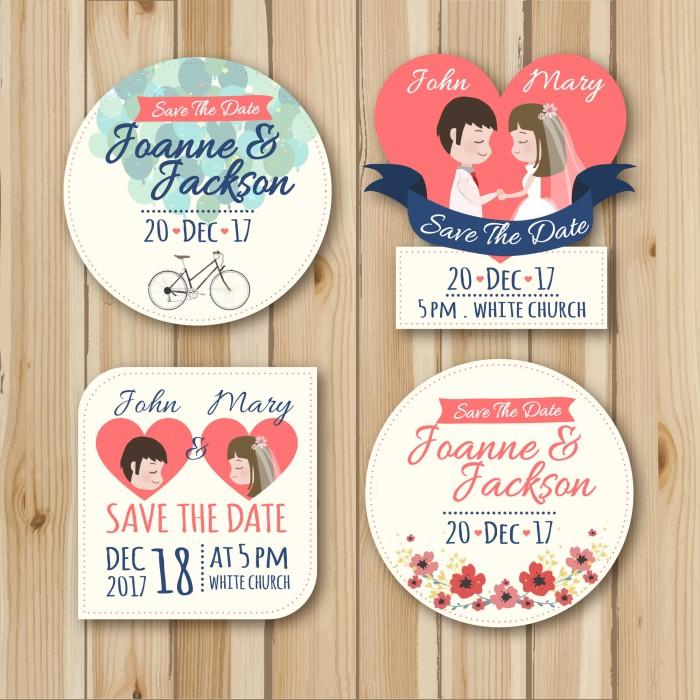 Stiker Untuk Ditempel Di Souvenir Pernikahan Ultah Per Pack Isi