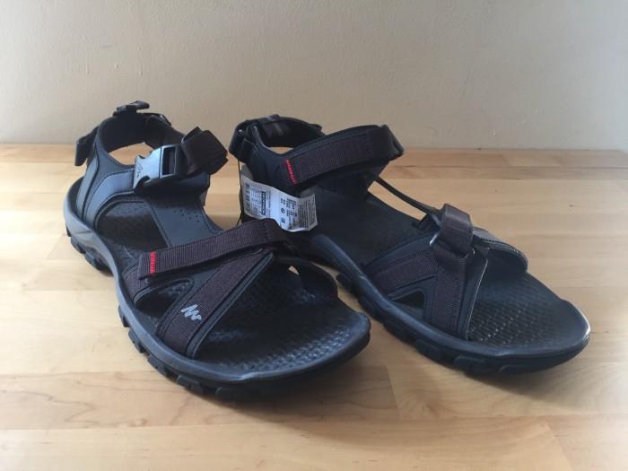 harga Quechua black sepatu sandal sendal gunung outdoor trekking size 46 Tokopedia.com
