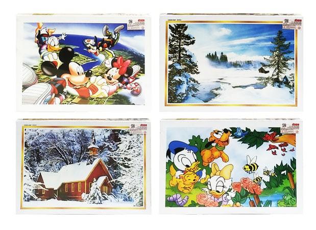harga Mainan puzzle 1000 pcs - model jigsaw - 3 tahun+ Tokopedia.com