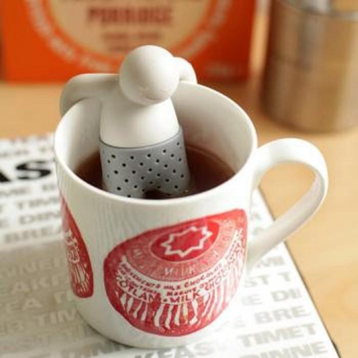 Saringan penyeduh teh celup/sachet/hijau/ mr. tea .