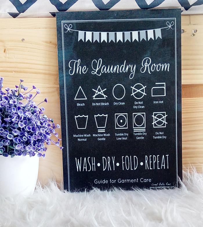 Jual Walldecor Laundry Room Kota Bandung Homedecorbdg Tokopedia