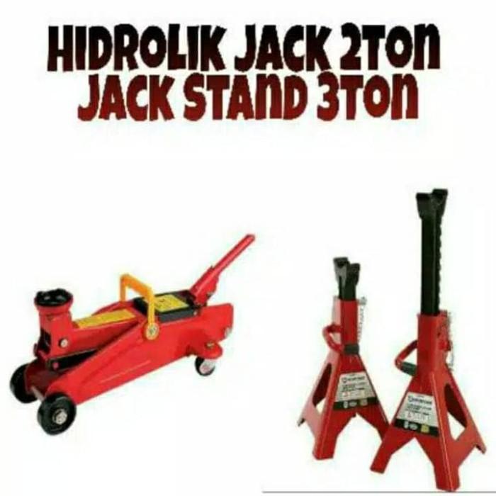 harga Promo termurah beli dongkrak buaya 2 ton dapat jack stand 3 ton 2 buah Tokopedia.com