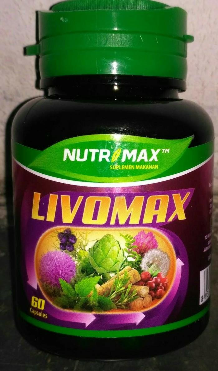 Nutrimax/livomax/suplemen liver dan kidney duo/60 ...