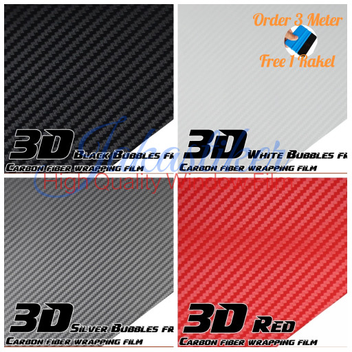 BLUE RED 3D WRAP CARBON FIBER PANEL w// LED toggle switches