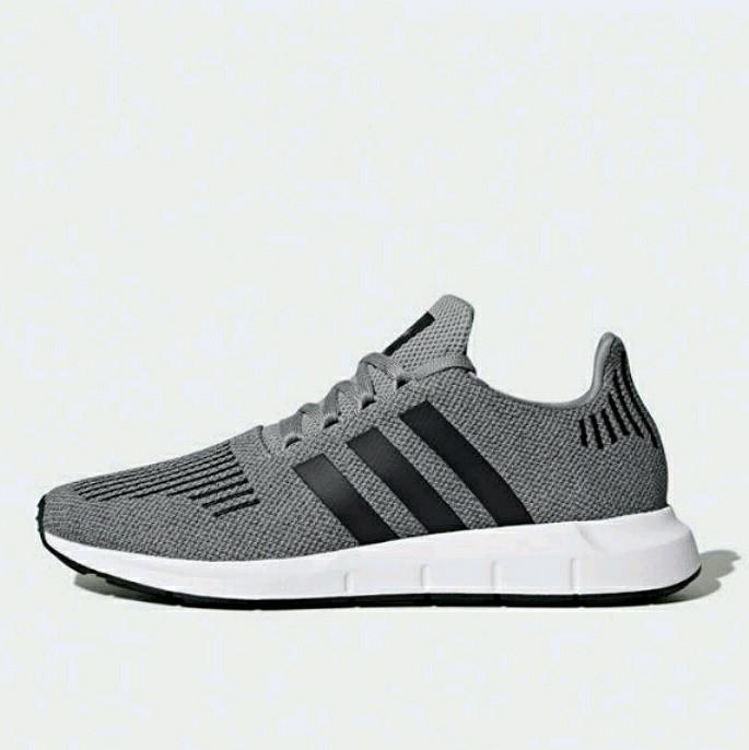 2996fc23ba3f8 Jual Sepatu Sneakers Adidas Swift Run Grey CQ2115 Original Shoes ...