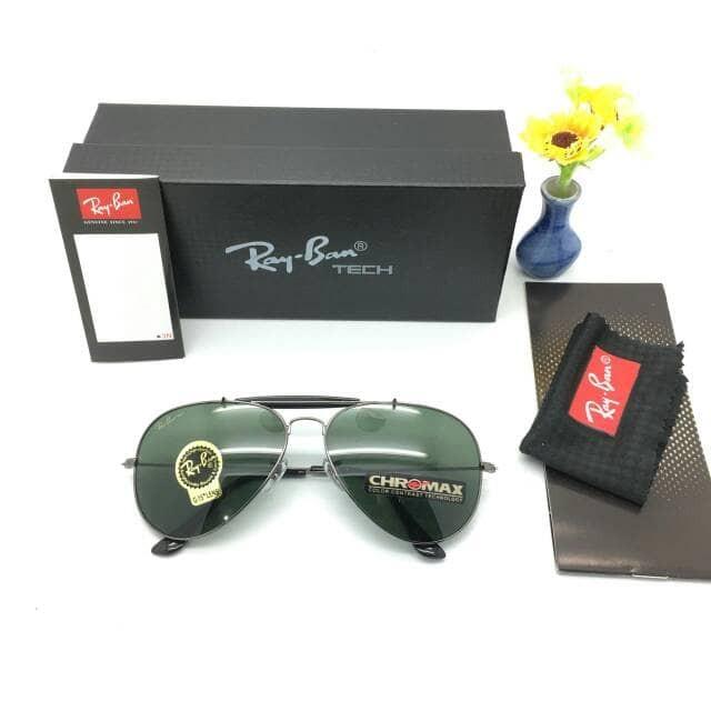 ... harga Kaca mata mewah keren pria sunglass rayban chromax super premium  Tokopedia.com 80cb158fc8
