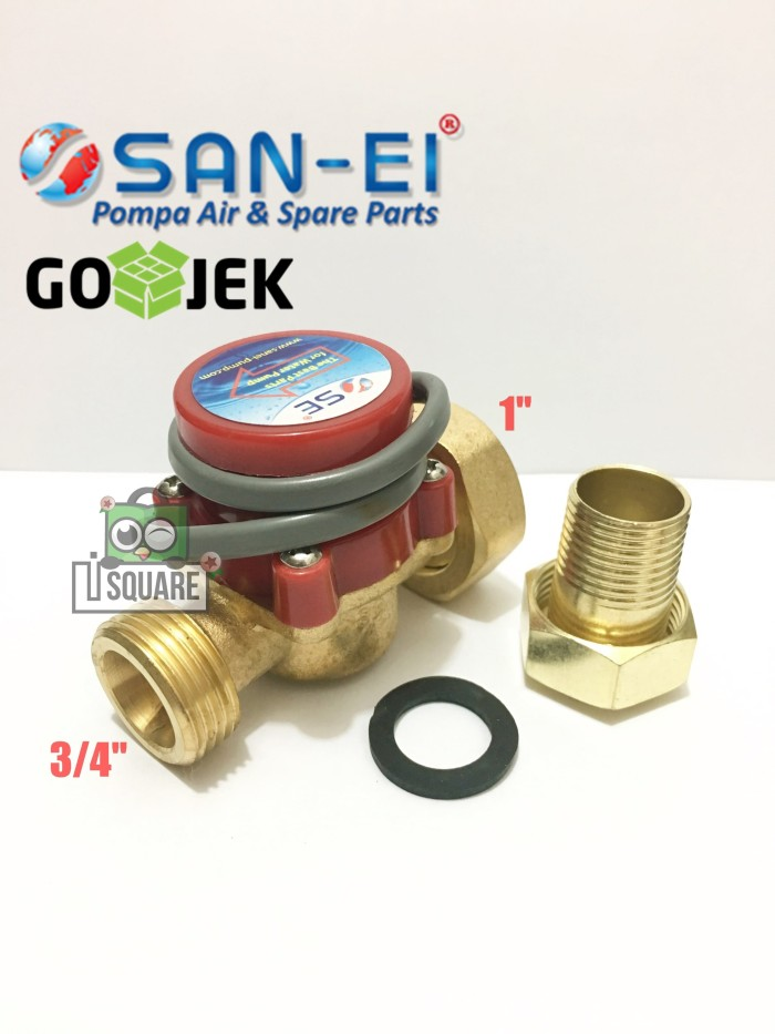 harga Flow switch san-ei(1  x 3/4  / 1  x 1/2 ) Tokopedia.com