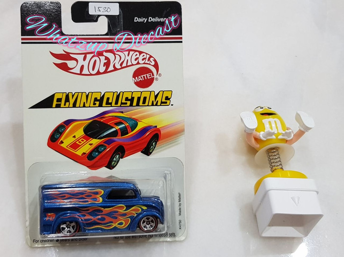 harga Hot wheels dairy delivery flying customs Tokopedia.com