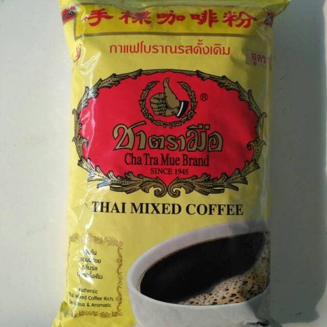 Enak asli Thai Mixed Coffee Chatramue Brand / Kopi Thailand
