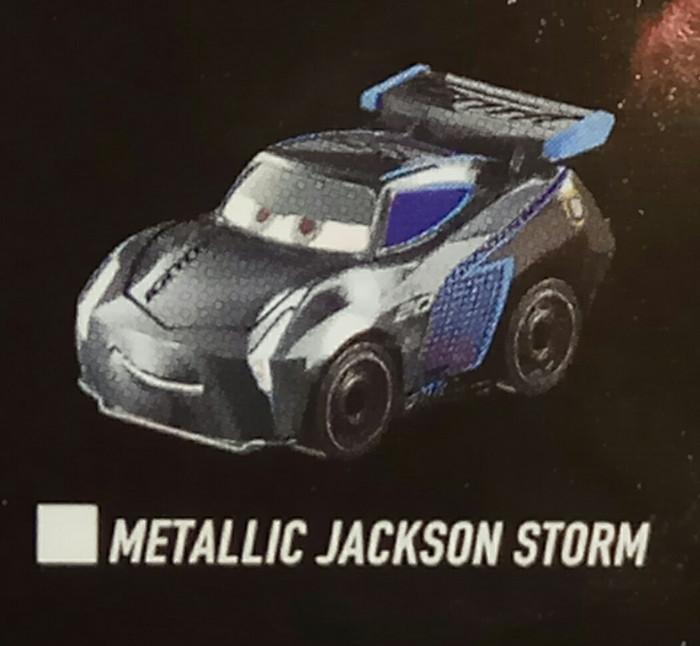 harga Disney pixar cars 3 mini racer wave 3 - metallic jackson storm no 14 Tokopedia.com