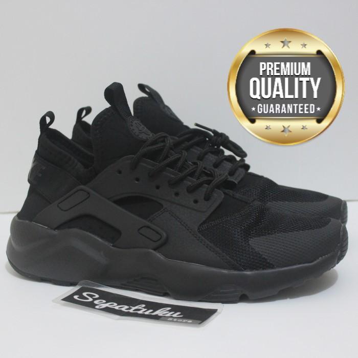 baf76faf994f ... best price sepatu nike huarache full black triple black premium quality  2e5a3 96d02
