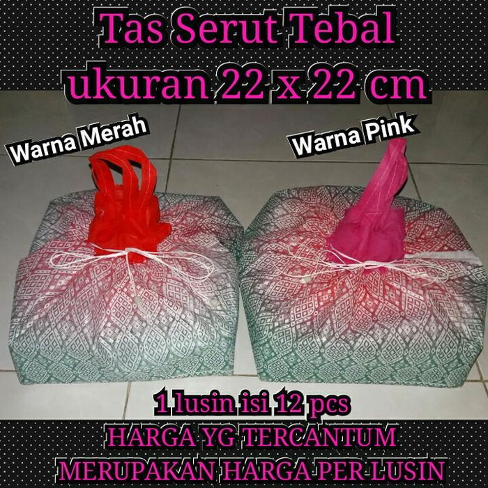 harga Serut 22x22cm (tebal) tas berkat / nasi kotak / hantaran / spundbond Tokopedia.com
