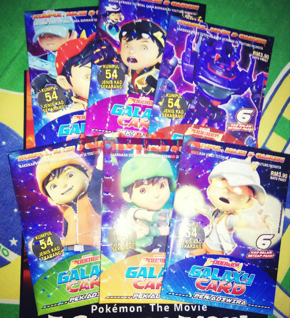 Jual Boboiboy Galaxy Card Set 54 Cards Cover Namisya Tokopedia