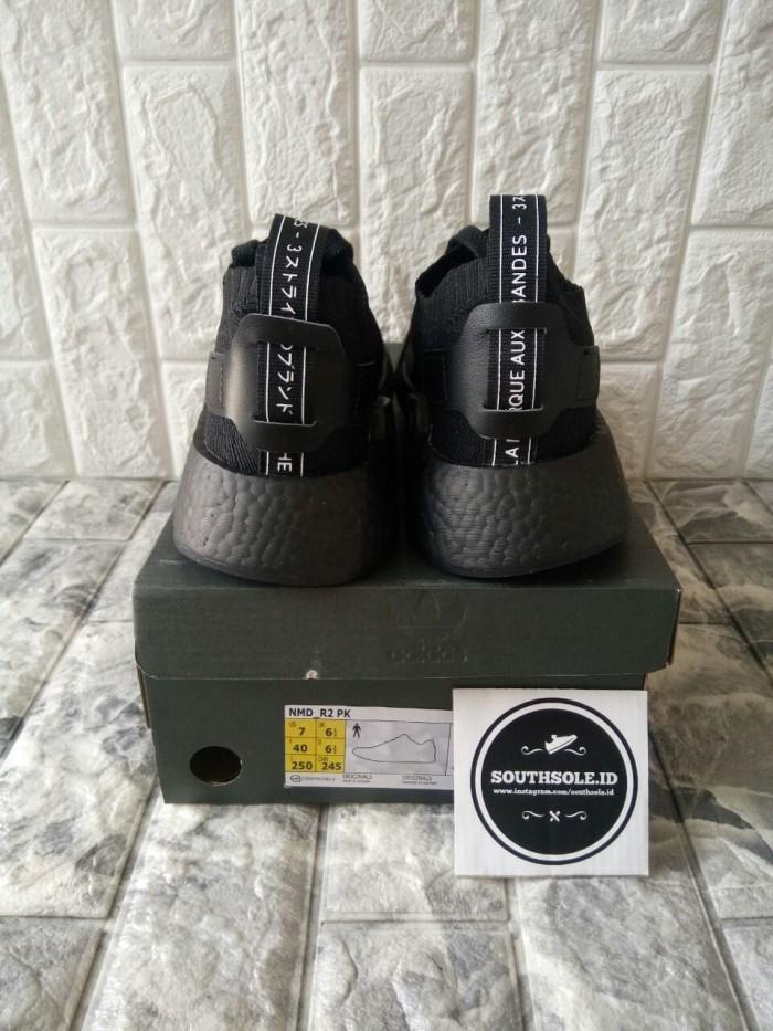 dbcacb8a2 Jual Adidas Nmd R2 PK Japan Triple Black - DKI Jakarta - South Sole ...
